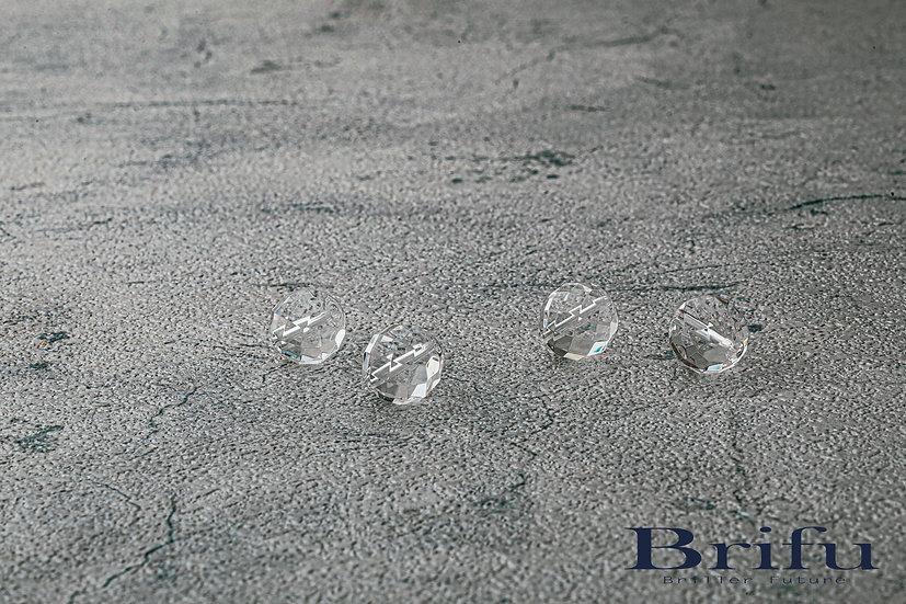 水晶64面カット 10mm 【5A】