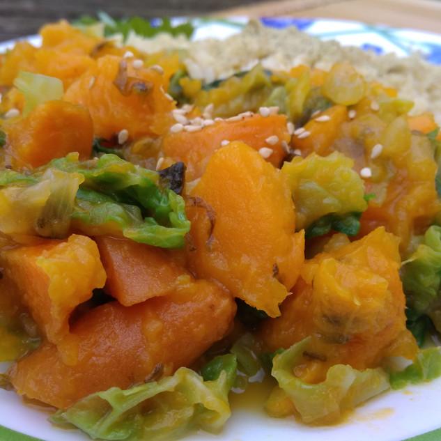 Nituké de verdures dolces