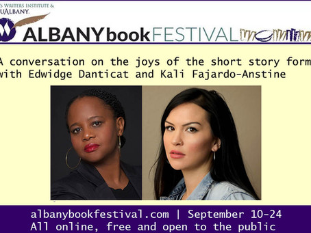 Albany Book Festival author spotlight: Edwidge Danticat and Kali Fajardo-Anstine