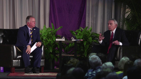 Short video clip from the Dan Rather conversation with Paul Grondahl