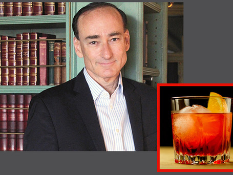 Author Chris Bohjalian's favorite pandemic cocktail is a ...