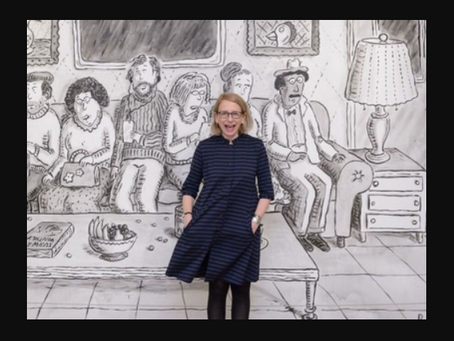 "A chat with Roz Chast, beloved ""New Yorker"" cartoonist"