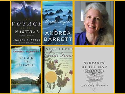 "Author Andrea Barrett's advice: ""Read, write, walk, repeat"""