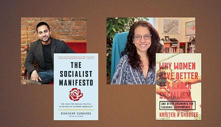Bhaskar Sunkara and Kristen Ghodsee