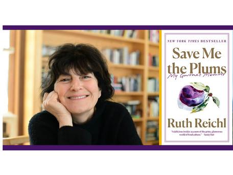 Chef/food writer Ruth Reichl kicks off 2021-22 Creative Life Series on Tuesday, Oct. 5