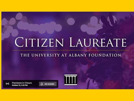 Tonight: Citizen Laureate Virtual Celebration
