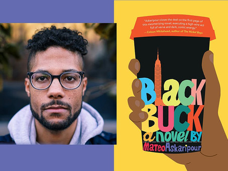 Mateo Askaripour, author of the debut novel Black Buck