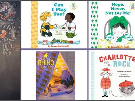 #IndieBookstoreBoost featuring children's author-illustrator Samantha Cotterill