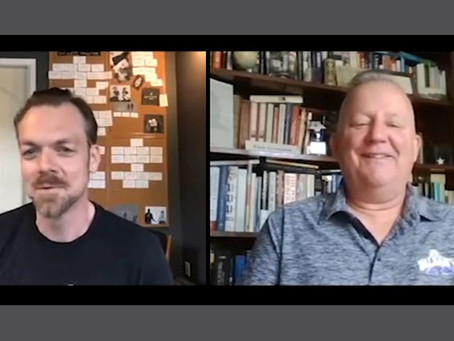 "Video interview: Dennis Mahoney, author of ""Ghostlove"""