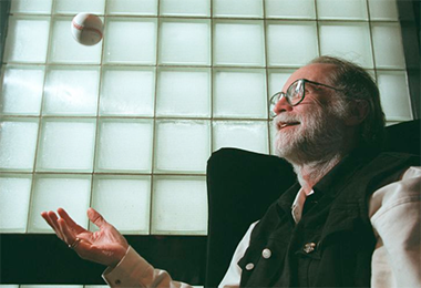 Author W.P. Kinsella (Getty Images)