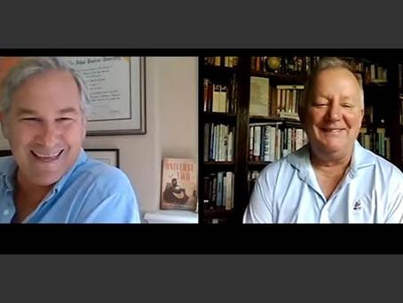 Video interview: novelist Stephen Kiernan