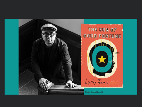 Video conversation with Lysley Tenorio, author of The Son of Good Fortune