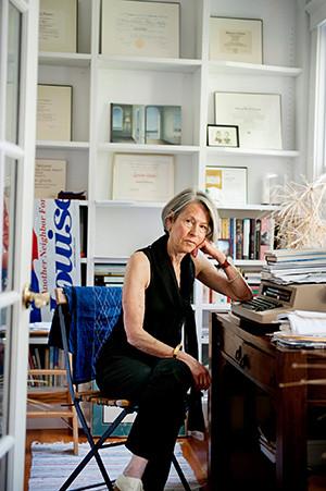 American poet Louise Glück. (Photo credit: Webb Chappell)
