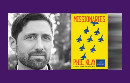 EVENT: Phil Klay, fiction writer and Iraq War combat veteran on Thursday, October 28