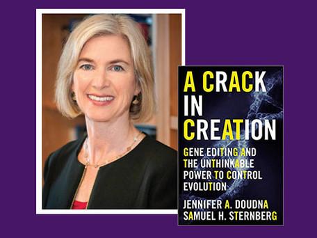 "ONLINE EVENT: Nobel Prize winner Jennifer Doudna, author of ""A Crack in Creation"""
