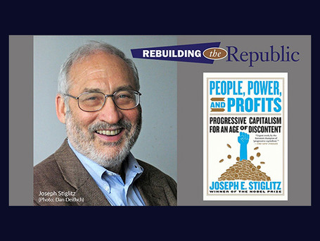 "Nobel Laureate Joseph Stiglitz: ""People, Power, and Profits"""