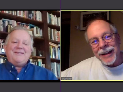 "Video: Gregory Maguire, author of ""Wicked,"" interviewed by Paul Grondahl"