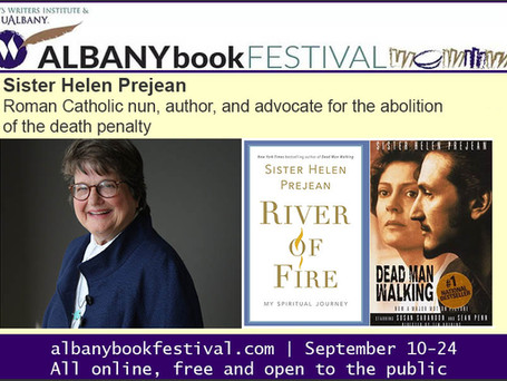 Coming to the Albany Book Festival: Sister Helen Prejean