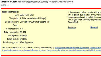 Click to see a timesunionPLUS email newsletter