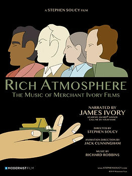 Rich Atmosphere: The Music of Merchant-Ivory Films  Director - Stephen Soucy  Documentary Short Film