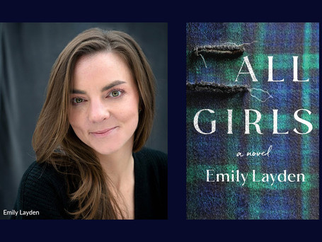 Emily Layden, author of the debut novel All Girls