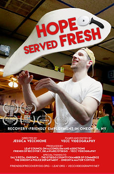 Hope Served Fresh - Recovery Friendly Employment  Director - Jessica Vecchione  Documentary Short Film