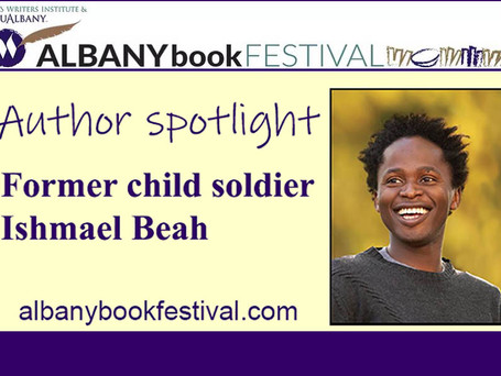 Albany Book Festival author spotlight: Former child soldier Ishmael Beah