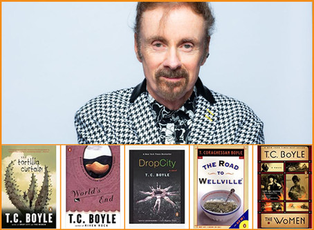 Q&A with T. C. Boyle: Book picks and tips on life during pandemic