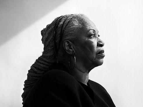 Toni Morrison, photo by Damon Winter