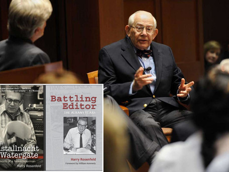 Harry Rosenfeld, editor who stared down Nazis and Nixon, dies at 91