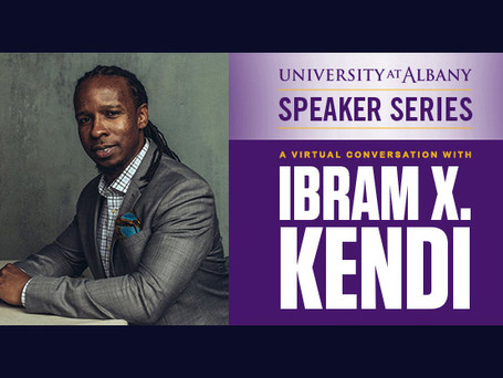 A virtual conversation with bestselling author, antiracist activist Ibram X. Kendi