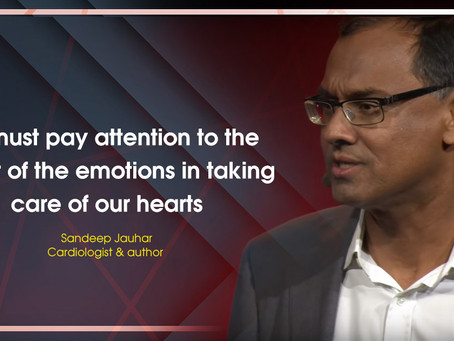 A few words with cardiologist Sandeep Jauhar, M.D.