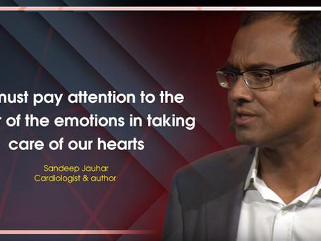 A few words with cardiologist Sandeep Jauhar, M.D.