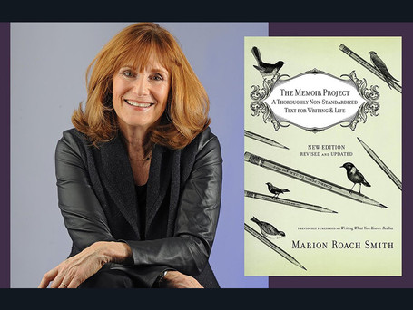 A conversation with writer and memoir coach Marion Roach Smith