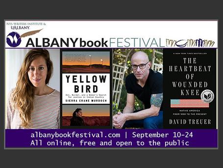 Albany Book Festival: Sierra Crane Murdoch & David Treuer