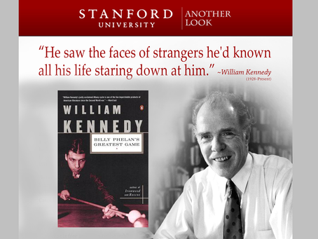 """Join us: William Kennedy's """"Billy Phelan's Greatest Game""""– a February 26 Zoom discussion!"""