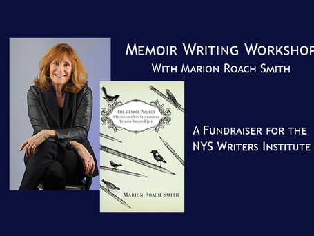 Memoir writing workshop offered and challenge grant update