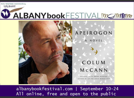 Albany Book Festival: National Book Award winner Colum McCann