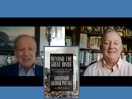 Video conversation with former Gov. George Pataki