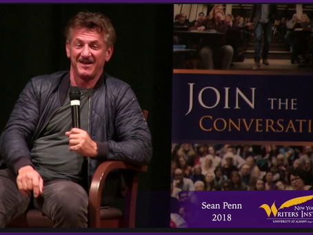 Actor, author, storyteller Sean Penn, and a book contest for you.