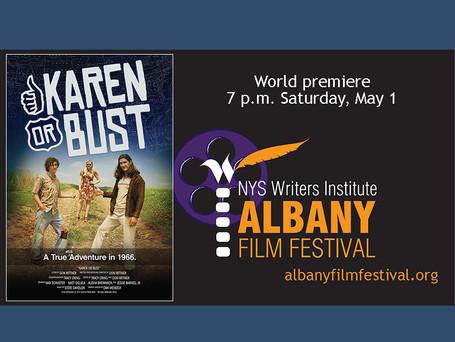 """Albany Film Festival event: Don Rittner's """"Karen or Bust"""""""