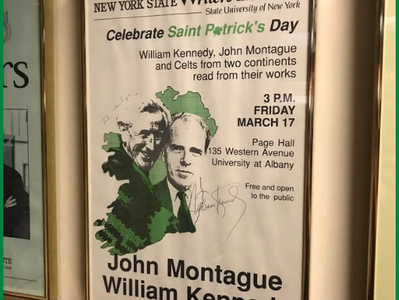 The Irish tradition at the NYS Writers Institute