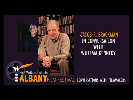 Talking movies with William Kennedy and Jacob Brackman