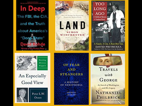 Book Festival events of special interest for fans of history, journalism, and psychology