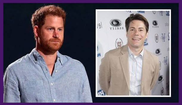 Prince Harry and his ghostwriter J.R. Moehringer