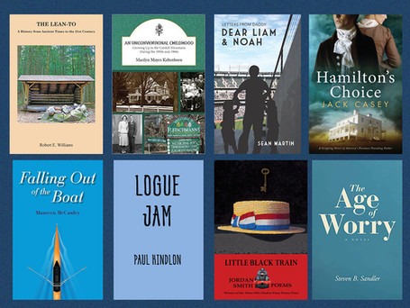 Emphasis on local: Books by local authors