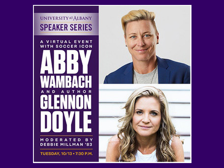 Soccer icon Abby Wambach, author Glennon Doyle discuss women empowerment October 13