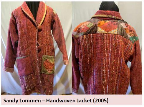Sandy Lommen -- Handwoven jacket