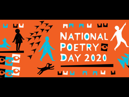 It's National Poetry Day (sort of)