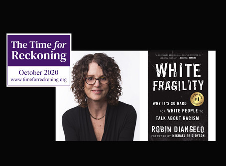 """Conversation with Robin DiAngelo: """"White Fragility"""""""